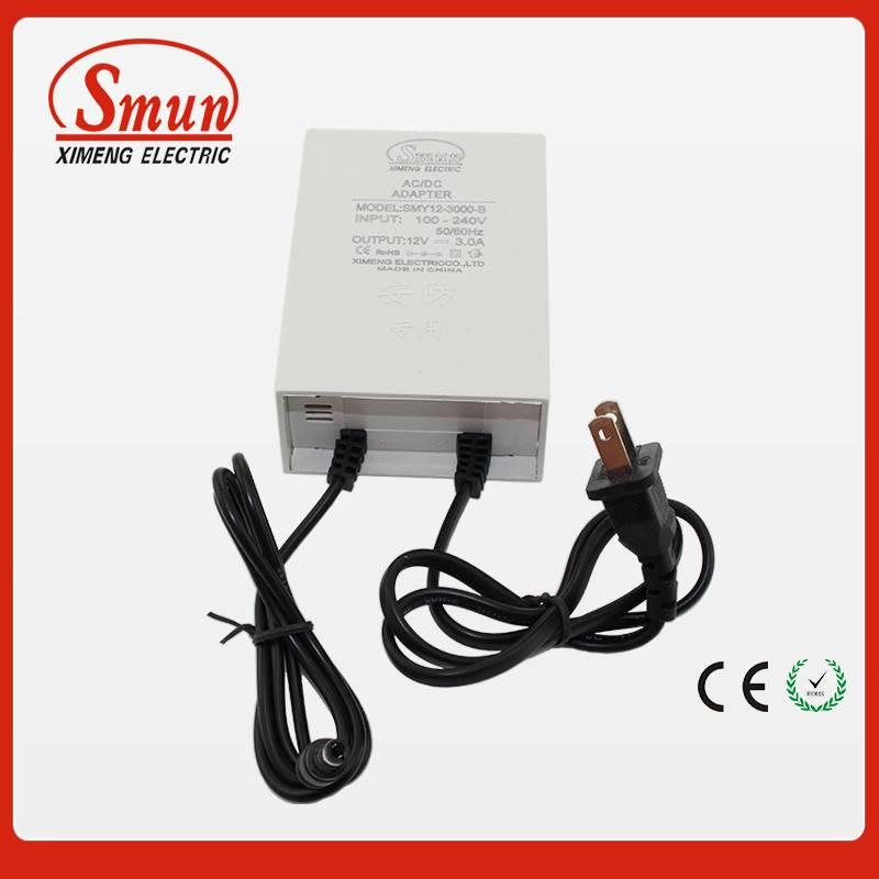 12v1a 2a 3a rainproof ac/dc adapter