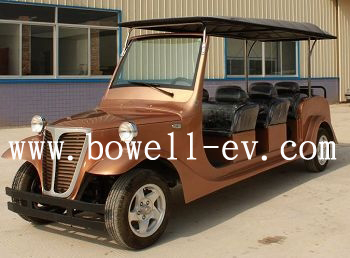8 seat electric Retro car EV8081A