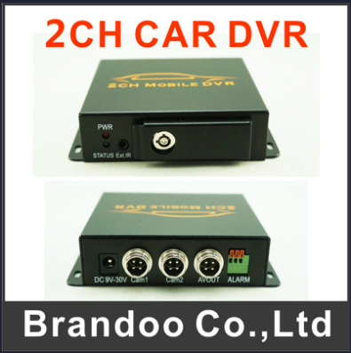 The Smallest 128GB 2 Channel Taxi DVR