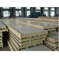 BEIPENG SHOUHAO® polyurethane sandwich insulation board with metal exterior panels