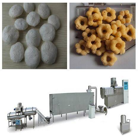 china puffed snack production line