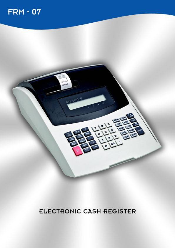 Fiscal Cash Register FRM07 / CRJ