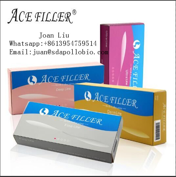 1ml ACE ultra dermal filler crosslinked hyaluronic acid gel/hyaluronic acid ampoule