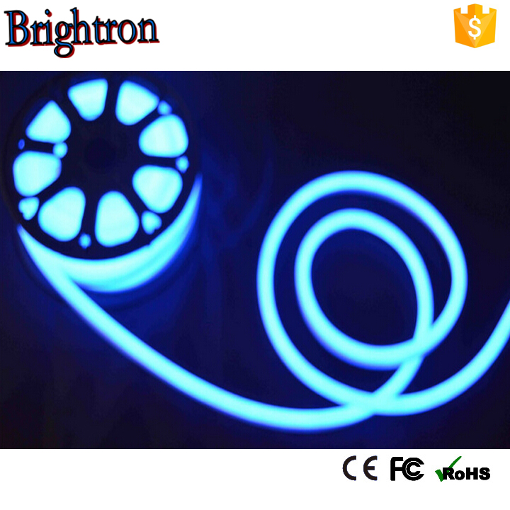 flamingo animated display open store shop ad signs cable strip 5050 RGB color changing led neon rope