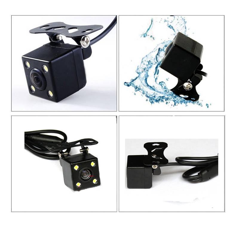 HD CCD Car Rear View Camera NTSC Black Night Vision Waterproof Color Rear Camera for Car Monitor Car