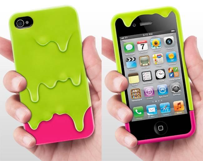 Korean style, melting ice cream shape,lovers new style Mobile phone cases