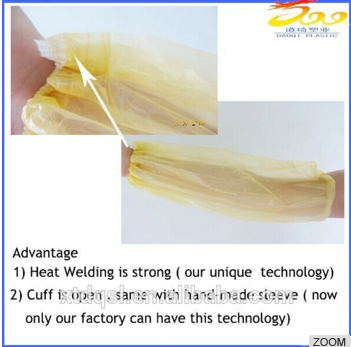 Arco vendor China Disposable Plastic Oversleeves