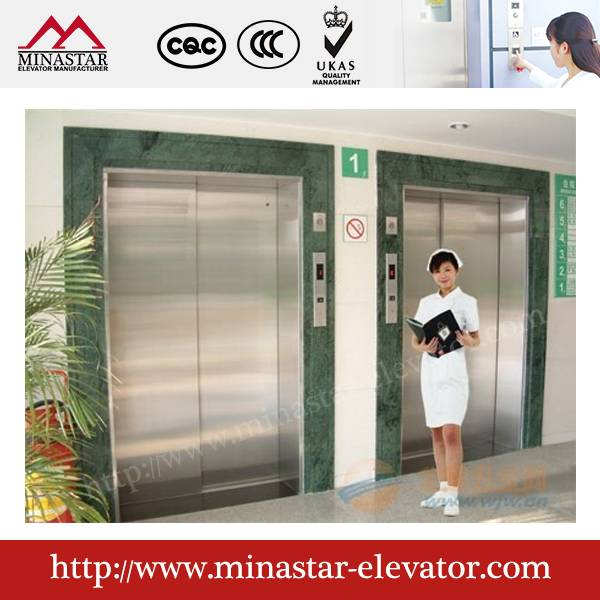 Hospital Medical Bed Lift|Machine room patient elevator|Medical cabin