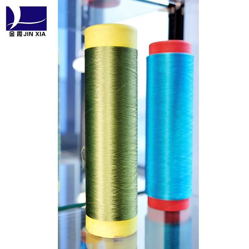 100 Dyed Colored DTY/FDY Polyester yarn