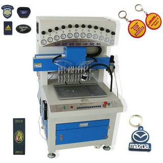 efficient jeans/cloth/bag label Dripping/dispensing Machine made in China
