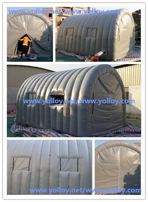 portable inflatable car spray booth