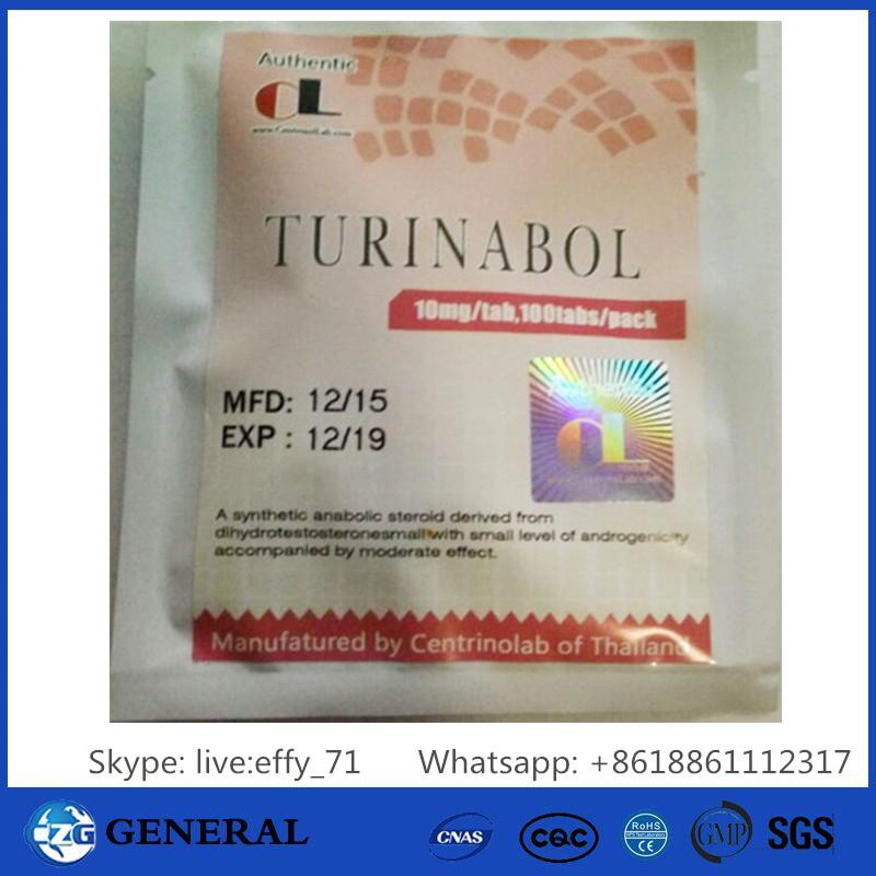 Turinabol  4-Chlorotestosterone Acetate Tbol CAS No.: 855-19-6)