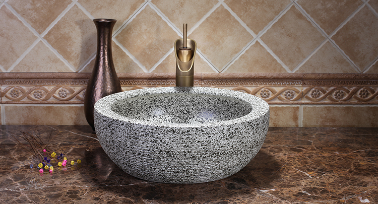 Modern Artistic Handmade Luxury High-end Classical Bathroom Above Countertop Ceramic Wash Basin Sink