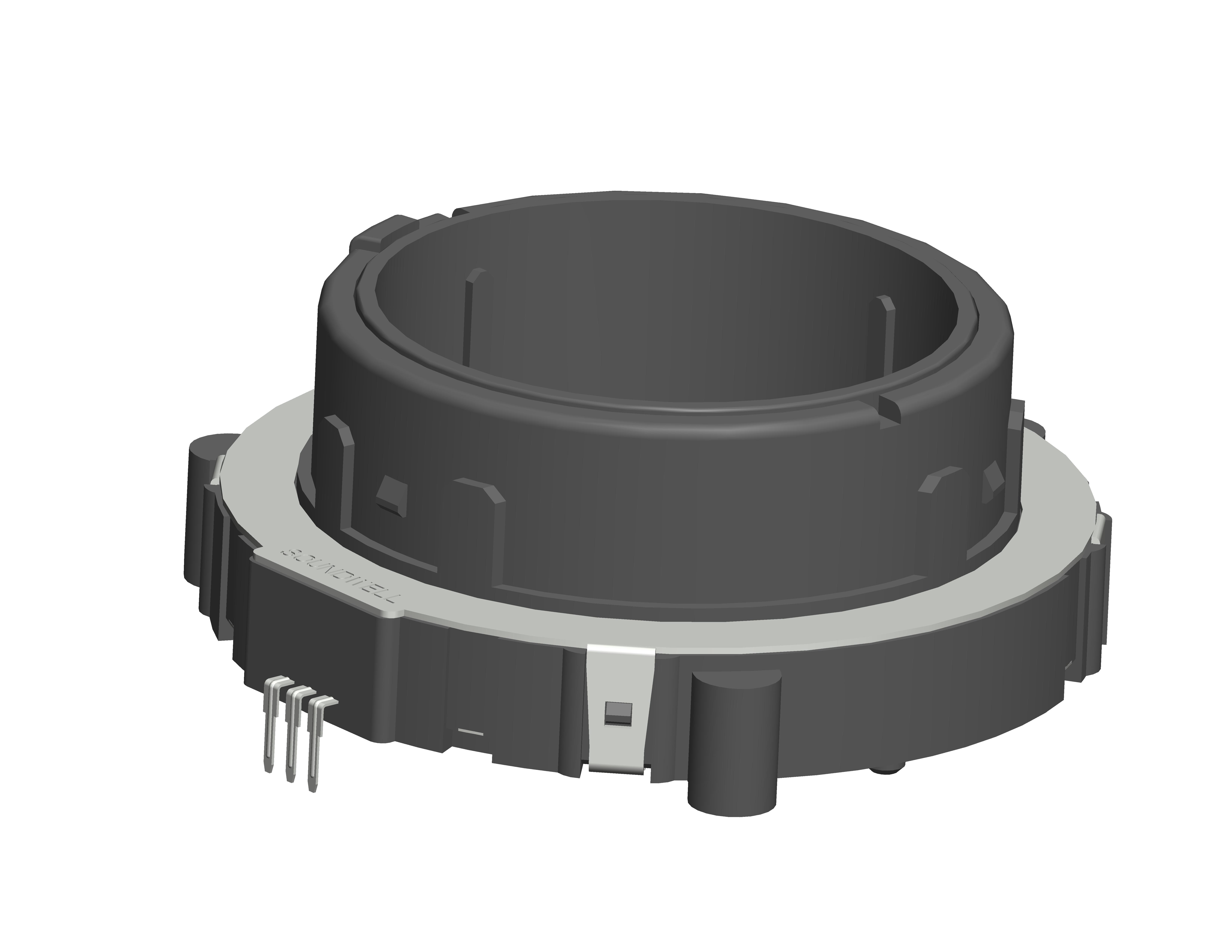 EC65 hollow shaft incremental encoder
