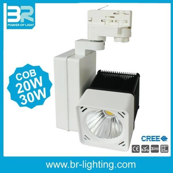 COB 30W Cube LED Tracklight