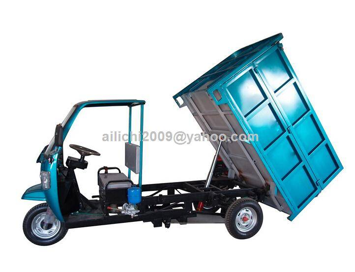 Electric Garbage Truck Cargo Vehicle Hydraulic Dump Truck