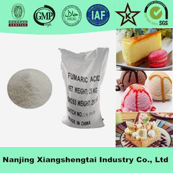 Hot sale fumaric acid food grade in acidity regulators
