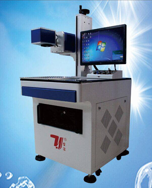 Good quality optical fiber laser marking machine for metal and 80% plastic