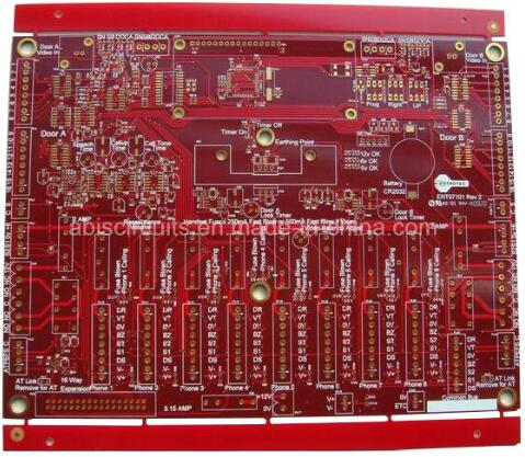 Red Ink Rigid Board PCB