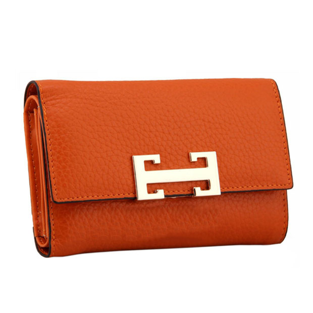 Fashion women long style metal buckle PU lady wallet