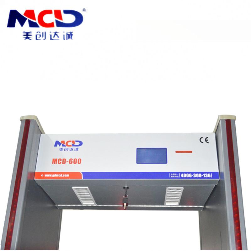 Intelligent High Accuracy Metal Detector Door/ Chinese Walkthrough Security Gate
