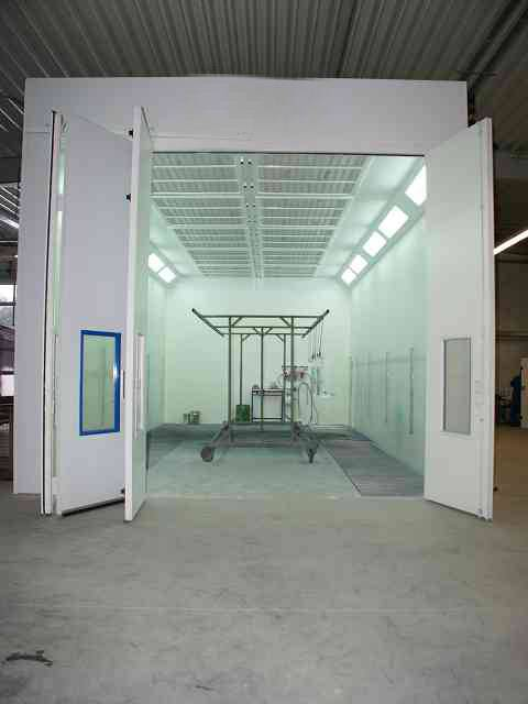 Economy Paint Spray Booth Painting Room for Car