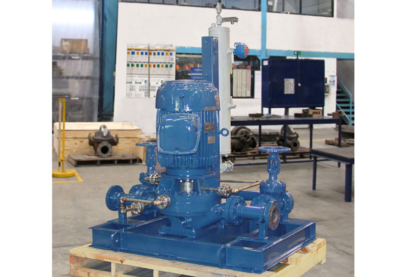VOHC4 vertical single-stage pipeline, radially split and rigid shaft coupling pumps