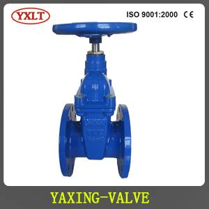 DIN3202 F4 Resilient Seated Gate Valve