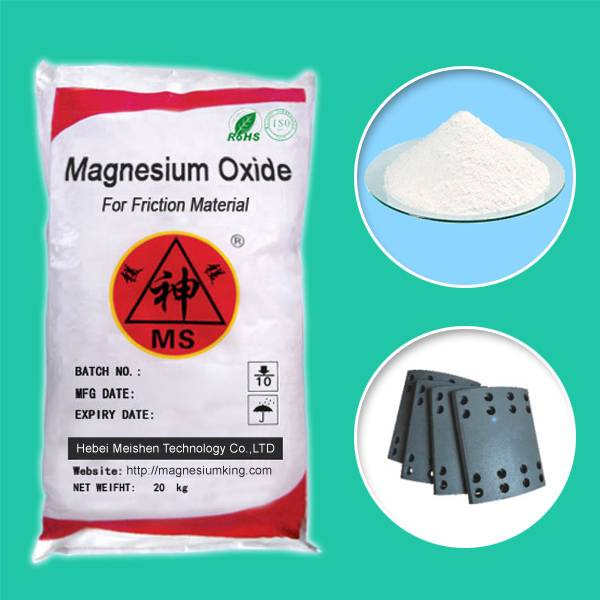 Magnesium Oxide for Friction Material