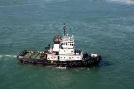 Tugboats service Malaysia flag