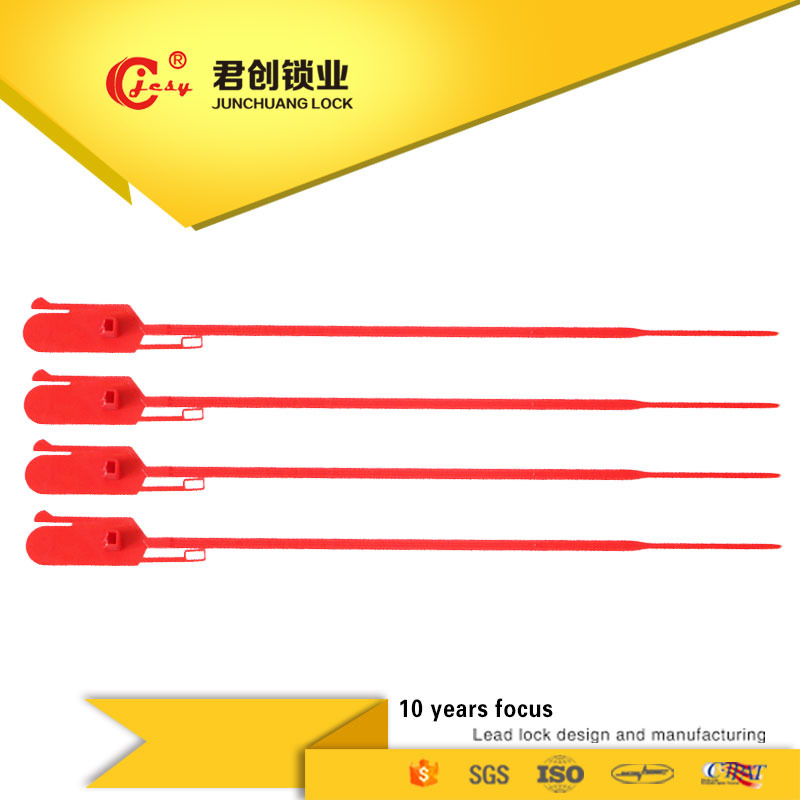 Security seals lock fixed lenght fire extinguisher safety plastic seal