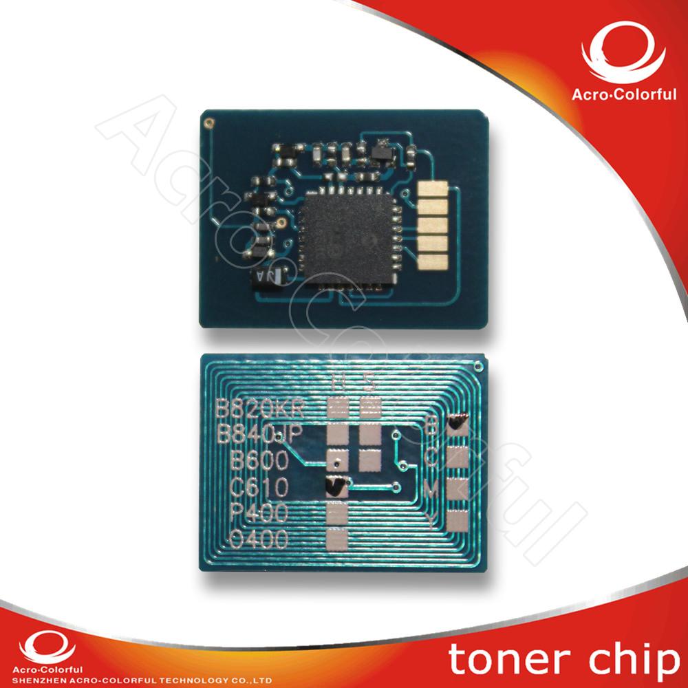 Compatible spare parts Toner cartridge Chip For OKI 5500 5800 5900 laser printer