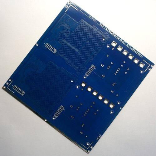 Blue Soldering Mask OSP Single-Sided PCB