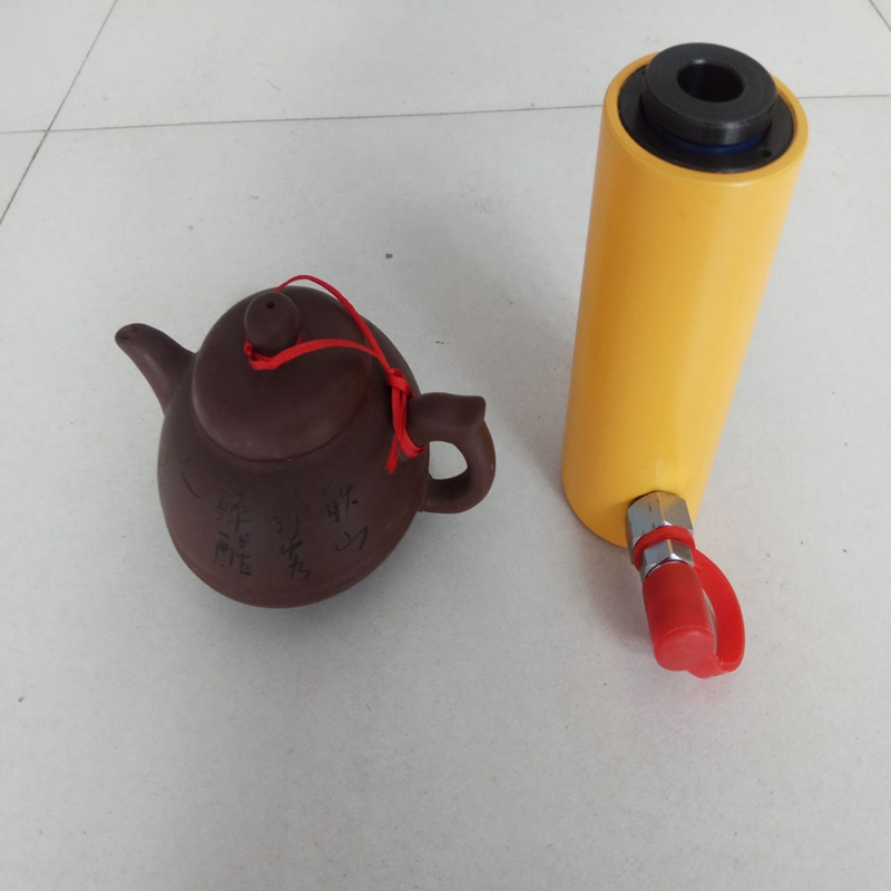 Dezhou Taigao Cheap High Quality Small Hollow Single Acting Hydraulic Cylinder