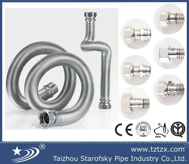 metall flexible extensible water hose pipe