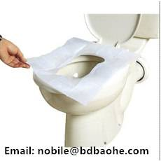 dispoasble toilet seat cover paper