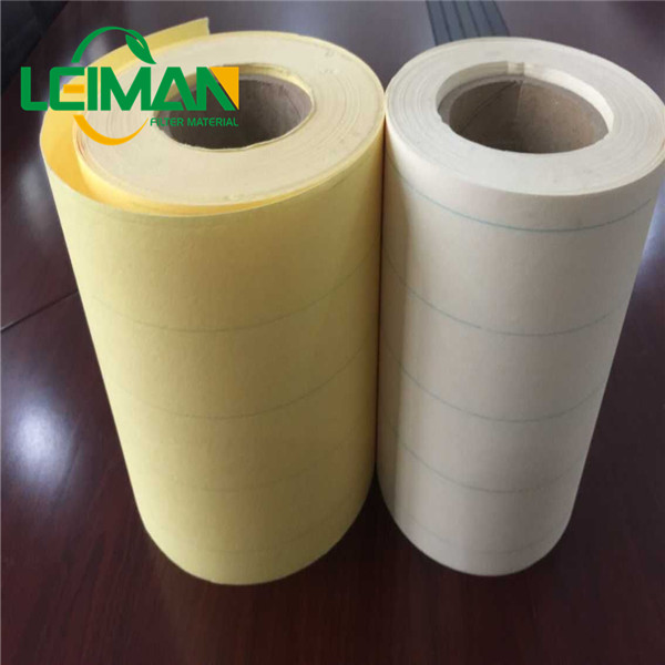 White filter materials filter paper used for air filters