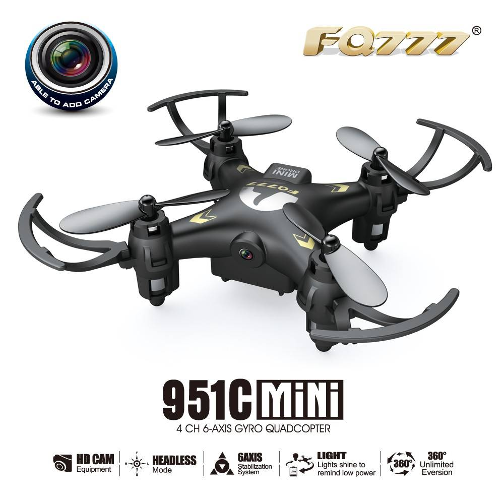 BBM-D51 mini drone 0.3MP camera 4CH 6-axi gyro