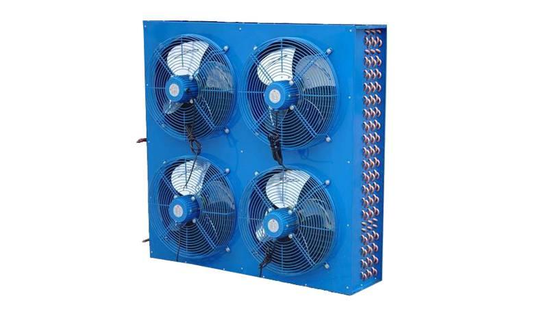 Cold storage condenser