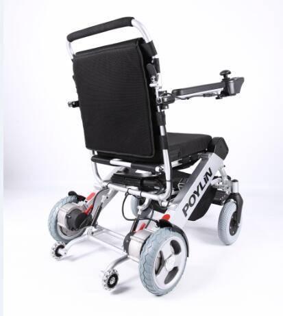 Aluminum alloy Light folding portable power electric wheelchair