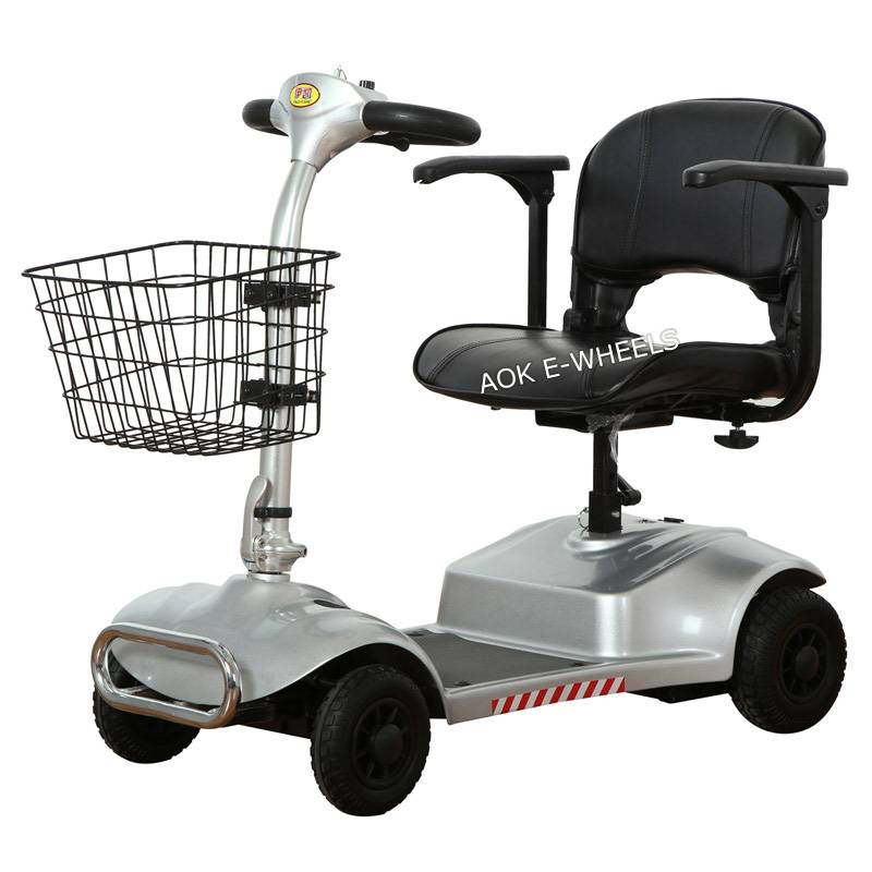 270W Electric Scooter, Disabled Mobility Scooter with Big Basket (MS-011)