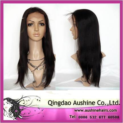 remy indian hair full lace wigs