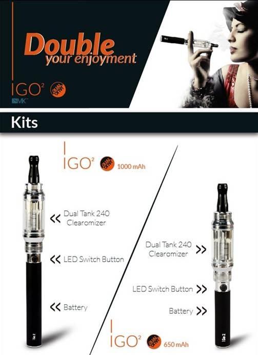 iGo2 Dual E-cigarettes