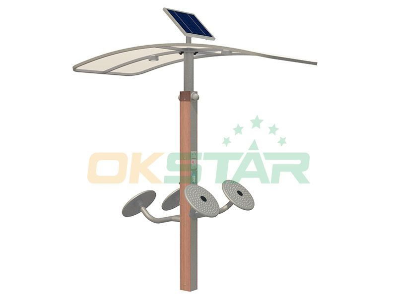 Outdoor fitness equipment New type Taichi wave hands gym fitness equipment for sale