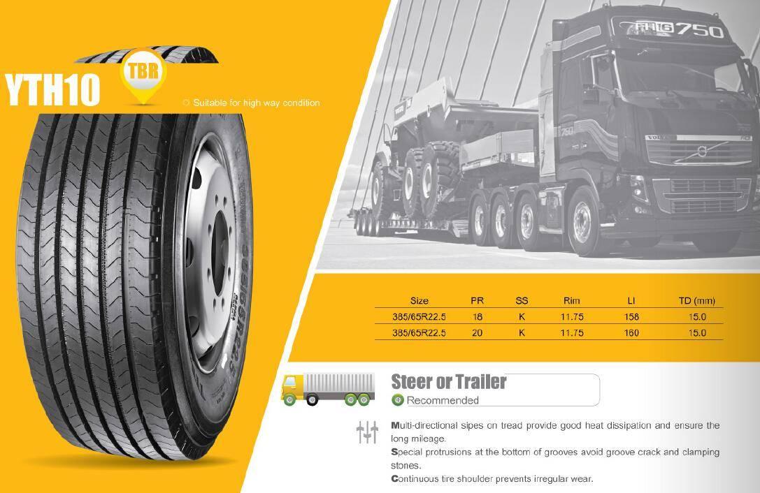 TBR Truck Tire Highway Long Haul YTH10