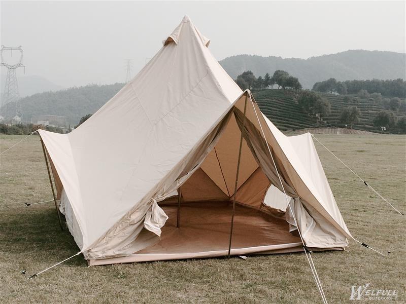Big garden canvas tent