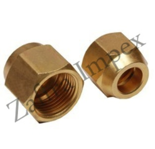 Brass Metric Nuts