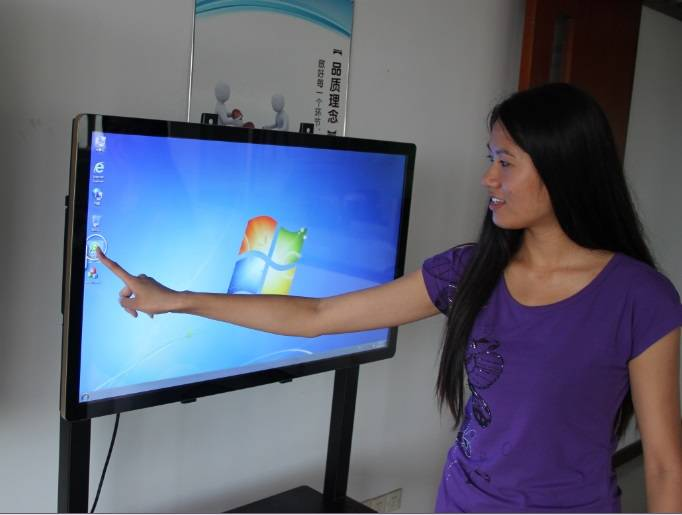 42 Inch Industrial Touch Panel All in One PC With P-Cap 10 Points