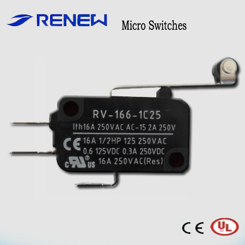 Snap action basic micro switch RV-166-1C25 /renew micro switch