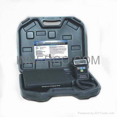 Programmable Refrigerant Charging Scale (RCS-7010 / RCS-7020)